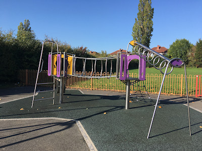 Romiley Park play area